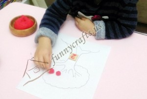 counting and maths skills with play dough (3)