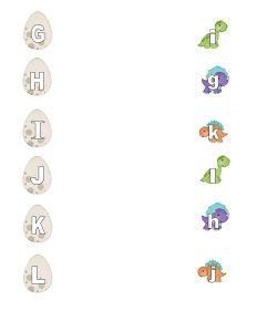 dinosaur letter matching activity (3)