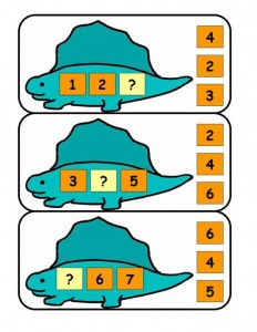 dinosaur math activities (2)