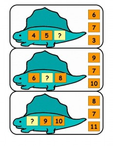 dinosaur math activities (6)