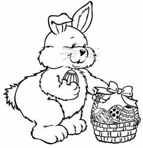 easter bunny coloring pages (3)