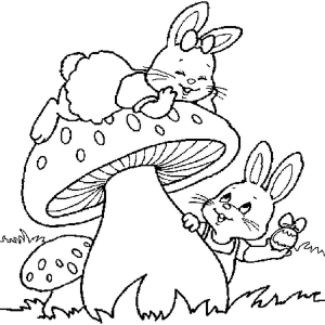 easter bunny coloring pages (4)