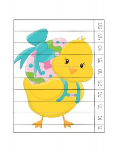 easter duck counting puzzle