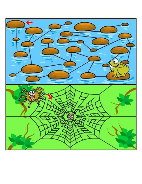 easy mazes for kids (11) « Preschool and Homeschool