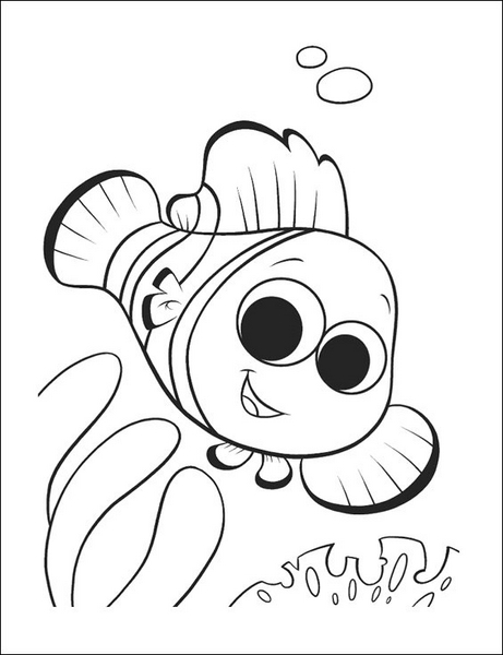 Fish Coloring Pages For Kids Kds 6