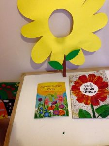 flower theme crafts and activities