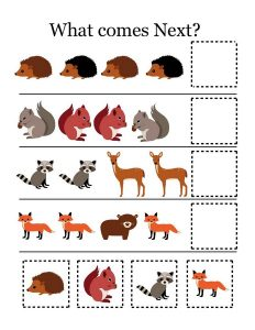 forest animals activities (1)