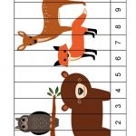 Forest animals printables