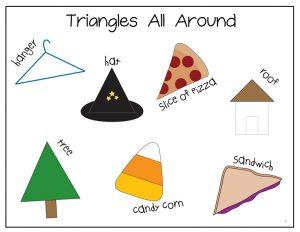 free Triangle printables (3)