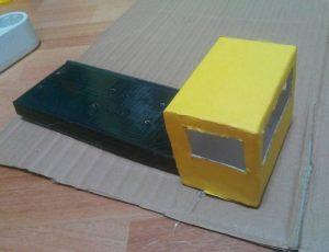 how to make a cardboard car