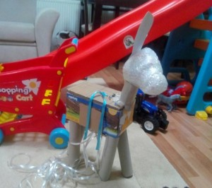 how to make a donkey pinata with pictures (1)