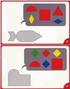kıds shapes acivities