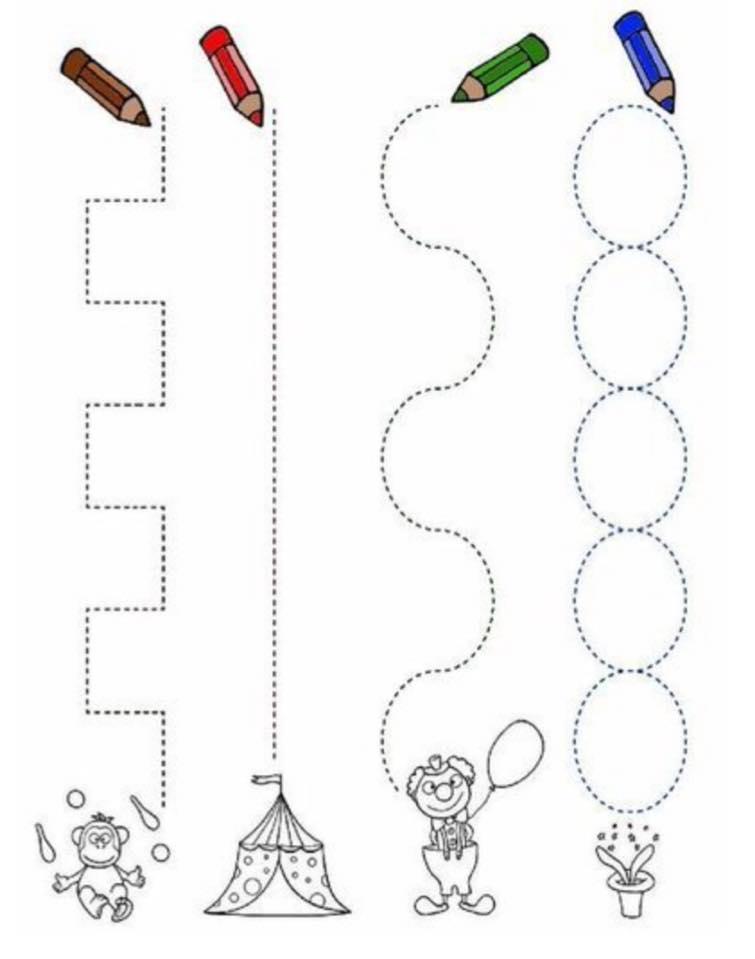 kids pre writing worksheets 1 funnycrafts – Prewriting Worksheets