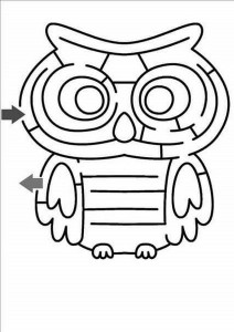 maze and labyrinth ımages child craft activity (8)