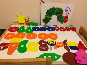 montessori ınspired eric carle activities