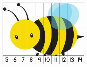 number puzzles bee