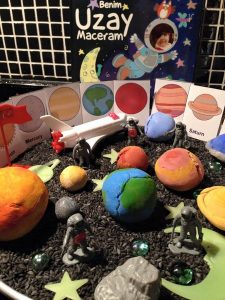 outer space and astronauts theme and activities