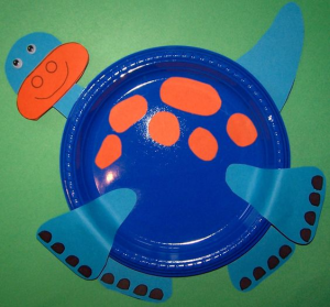paper plate dinosaurs (2)