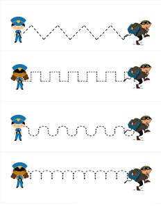 police pre writing worksheets (1)