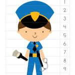 Police themed worksheets