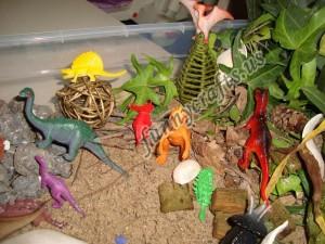 preschool dinosaur activities and sensory play