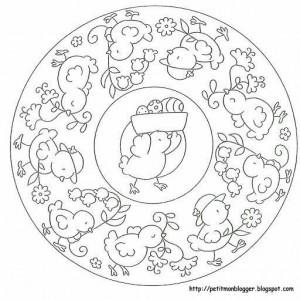 preschool easter egg mandala coloring (5)