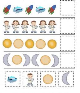 preschool space themed activities (9)