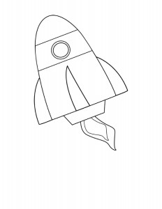 rocket coloring pages (1)