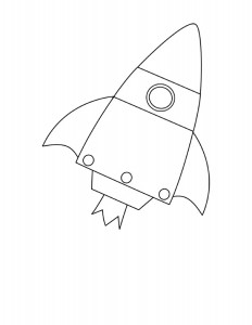 rocket coloring pages (2)
