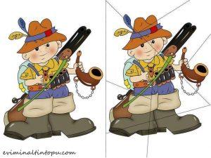scout puzzle printables