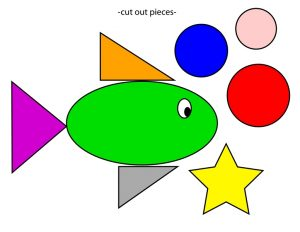 shapes themed fish cut and paste (2)
