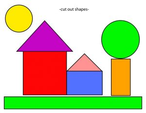 shapes themed home cut and paste (2)