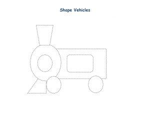shapes vehicles train