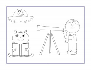 space alien coloring pages (3)