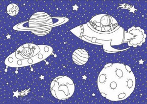 space coloring worksheets (11)