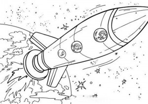 space coloring worksheets (14)