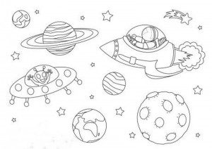 space coloring worksheets (16)