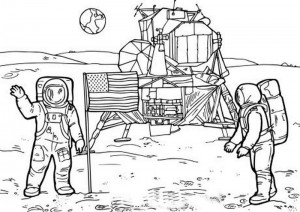 space coloring worksheets (8)