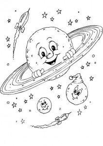 space theme coloring pages (4)