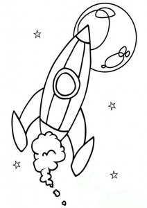 space theme coloring pages (5)
