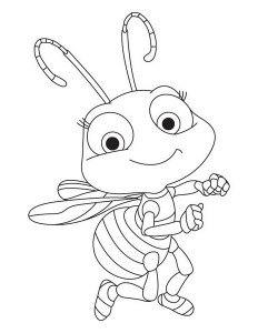 spring bee coloring pages (10)