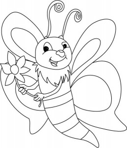 spring bee coloring pages (11)