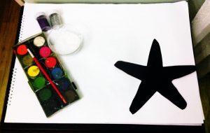 starfish painting activities