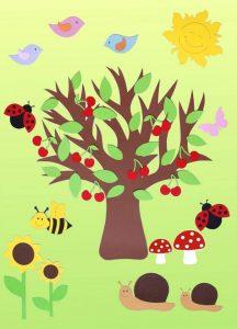 summer tree crafts