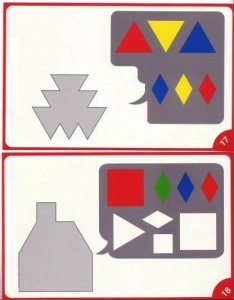 tangram shapes activities