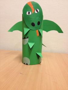 toddlers dragon craft  (3)