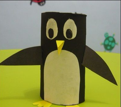 Penguin craft preschool Funny
