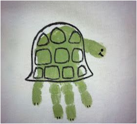 tortoise and turtle preschool activities and crafts 1