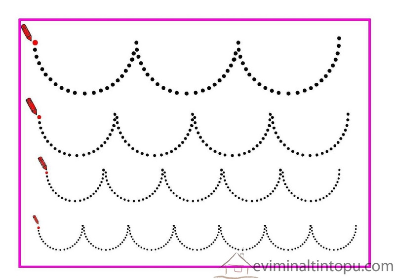 tracing line worksheet for kids
