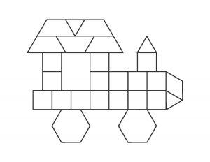 vehicles pattern block cards (10)